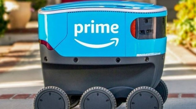 Роботизирани куриери от Amazon